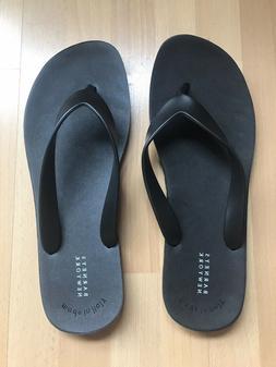 BARNEYS NEW YORK 3 PAIRS Rubber Sandals Flip Flops Beach Ita