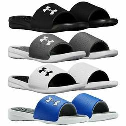Under Armour 3000061 Men's UA Playmaker Fixed Strap Slides A