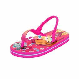ACI Paw Patrol Flip Flop Sandals For Toddler Little Girls Sk