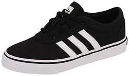 adidas Originals Boys' ADI-Ease J Sneaker, White/Black, 5 Me