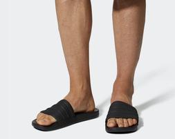 Adidas Adilette Cloudfoam Plus Black Mono Slides / Flip-Flop