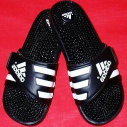 Adidas Adissage Women's  Flip Flops Black Massaging Slides S