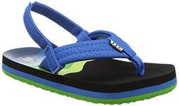 ahi boys flip flop aqua blue 5