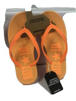 Converse All Star Neon Orange Sandstar Thong Flip Flops #136