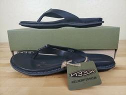 Keen Alman Flip Flops Thong Sandals Womens Size 5.5 Black Le