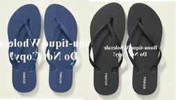 AUTHENTIC OLD NAVY WOMEN CLASSIC BLACK  OR BLUE FLIP-FLOPS