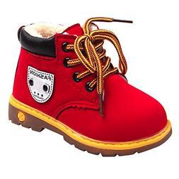 Baby Children Warm Thicken Boys Girls Sneaker Snow Boots Kid