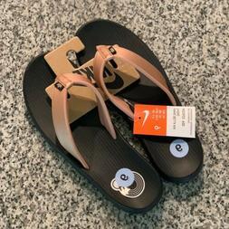 Nike Bella Kai Womens Thong Sandals Flip Flops Black & Bronz