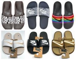 Nike Benassi JDI Logo Slides Men's 8 11 12 Sport Sandals Fli
