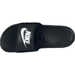Nike Benassi Just Do It Mens Flip Flops - Size 9, Black