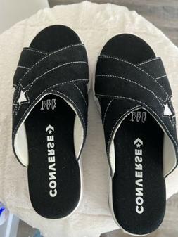 Black Converse Flip Flops - Unique