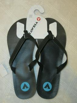 Airwalk Black Flip Flops Women Size 12