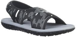 Under Armour Boys' Pre School Fat Tire II Slide Sandal, Blac