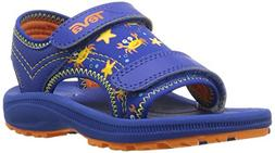 Teva Boys' Psyclone 4 Sandal, Crazy Crabs Blue/Orange, 6 M U