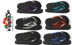 Brand New NWT Hawaii Locals Rubber Slippers Flip Flops Sanda