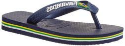 Havaianas Brasil Logo Flip-Flop Sandals Brazilian Flag Desig