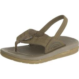Rainbow Capes Sandal - Toddler and Infants' Brown, 4.0-5.0