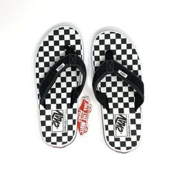 Vans LA Costa Lite Thong Sandal Checkerboard Black/White Men