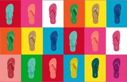 OLD NAVY Classic Flip-Flops Thong Sandals multi colors NWT W