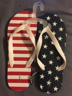 Old Navy Classic Flip Flops Sandal Woman 10/11 Americans Fla