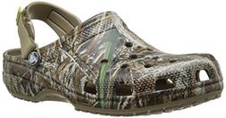 crocs Men's Classic RT Max 5 Turbo Clog Mule, Camouflage, 13