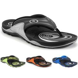 Comfort Air Cushion Arch Support Sports Flip Flops for Men W