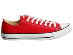 Converse Unisex Chuck Taylor All Star Red Low Top Sneaker