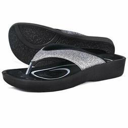 Crystal Grey AEROTHOTIC Original Orthotic Comfort Thong Styl