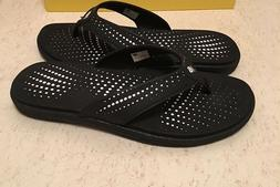New Balance Cushioned Flip Flops for Women, US Size 10, Blac