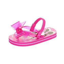 Disney Minnie Mouse Toddler Little Girls Flip Flop Beach San