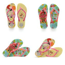 Havaianas Disney Minnie Mouse Tropical Yellow Flip Flops for