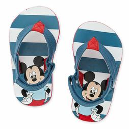 Disney Store Mickey Mouse Baby Sandals Flip Flops
