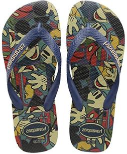 Havaianas Mens Disney Stylish Sandal Navy Blue, Navy Blue, 4