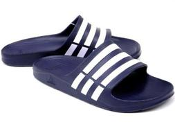 ADIDAS Duramo G15892 Navy/White Sandals Flip Flops Shower Sl