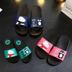 Family Slippers Baby Boys Flip Flops Cartoon Print Open Toe