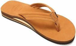 FANTURE Mens Flip Flops Arch Support Sandals Indoor and Outd