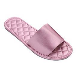 Mysky Fashion Women Brief Soft Sole Home Bathroom Slippers L