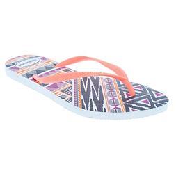Women's Havaianas 'Slim' Flip Flop, Size 39/40 BR - Orange
