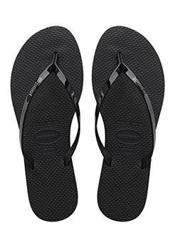Women's Havaianas 'You' Flip Flop, Size 37/38 BR - Black