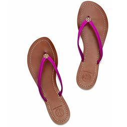 Women's Tory Burch 'Terra' Flip Flop, Size 4 M - Purple