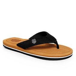 Men's Flip-Flops Arch Support Soft Summer Sandals Light Weig