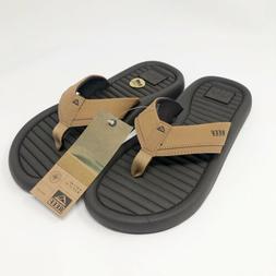 Reef Flip Flops Companero Men's Size 8 Brown Sandals NWT New