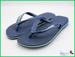 Havaianas Flip-Flops Mens Ladies Boys Brasil Logo Slippers f