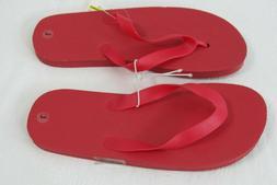 Flip-Flops Sandals  Girls Size Large 2 - 3    Red New