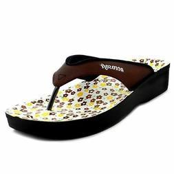 Aerosoft Flip Flops Sandals Spring Brown Soft Aerothotic  Co