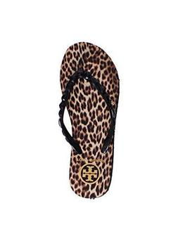 Tory Burch Flip Flops Shoes Sandals Flat Rubber New  US, Leo