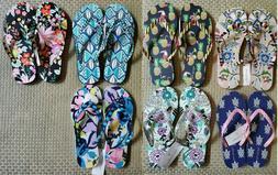 Vera Bradley FLIP FLOPS - U Choose your Design & Size S M L