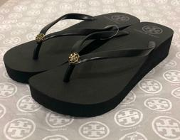 Tory Burch Flip Flops Wedge Size 6 USPS Priority mail