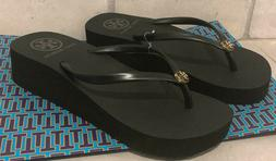 Tory Burch Flip Flops Wedge Size 7 USPS Priority mail