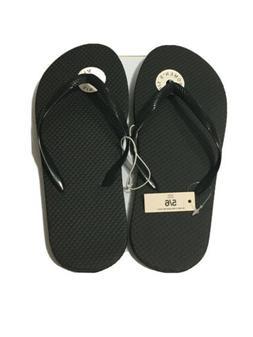 Flip Flops Women Size 5/6 Black
